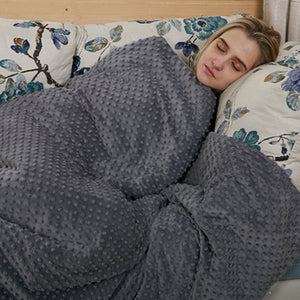 Decompress To Help Sleep And RelieveAnxiety Weighted Blankets