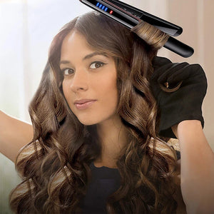 2-In-1 Hair Straightener Curler Hair Iron