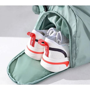 Dry Wet Pocket & Shoes Travel Duffel Bags