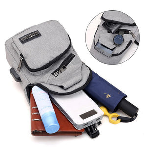 Men's USB Charging Travel Waterproof Bags