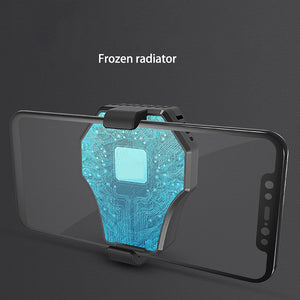 Mobile Phone Radiator Cooler Cold Wind Handle