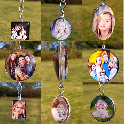Custom Photo DIY Double Side Personalized Key Chain