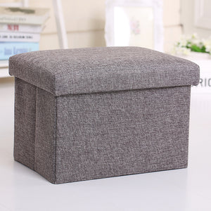 Folding Stool Multifunctional Seat Simple Storage Box
