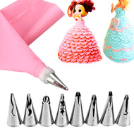 Decorating Stainless Steel Cake Nozzles