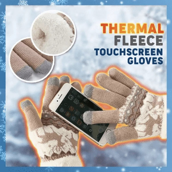 Winter Extra-warm Fleece Touchscreen Gloves