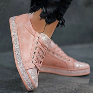 Casual Lace Women's Autumn Sneakers