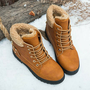 Ladies Waterproof Warm Winter Snow Boots