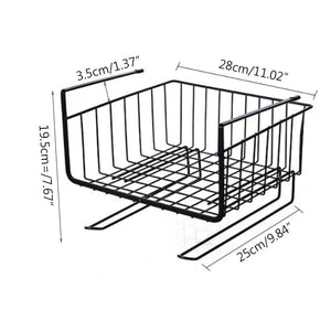 Dormitory Storage Hanging Basket Layers Organizer Shelf