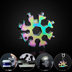 Portable Snowflake Multifunctional Tool