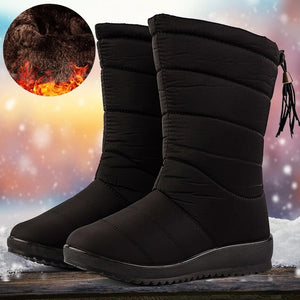 Women Waterproof Non-slip Warm Snow Boots