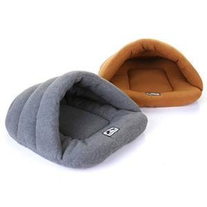 Warm Cat & Dog Soft Calming Slippers Beds