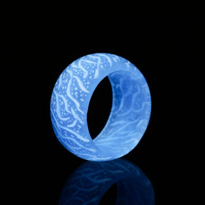 Fashion Colorful Luminous Ring