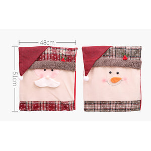 Christmas Chair Cover Decorations