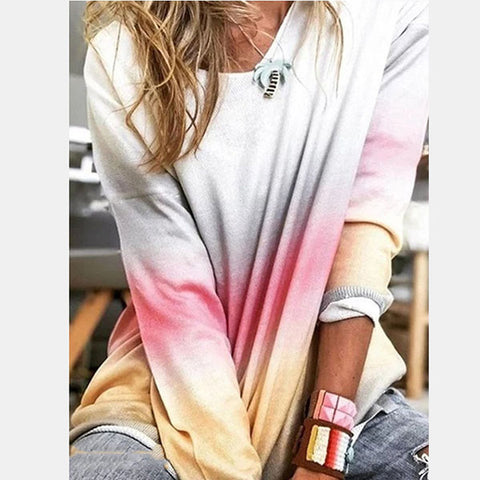 Spring Women Long Sleeve Multi-Color Casual Blouses