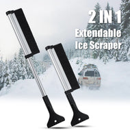 Automobile Snow Shovel Extendable Car Ice Scraper Brush