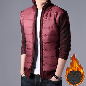 Men's Wind-Resistant Patchwork Jackets