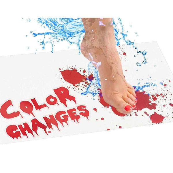 Instant Footprint Blood Bath Shower Mat Non-slip Floor Carpet