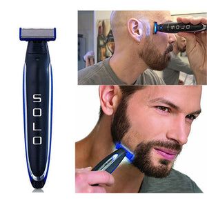 Replaceable Shaver Head Accessories USB Charging Electric Razor