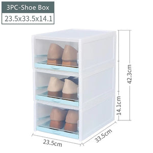 Transparent Shoe Storage Box