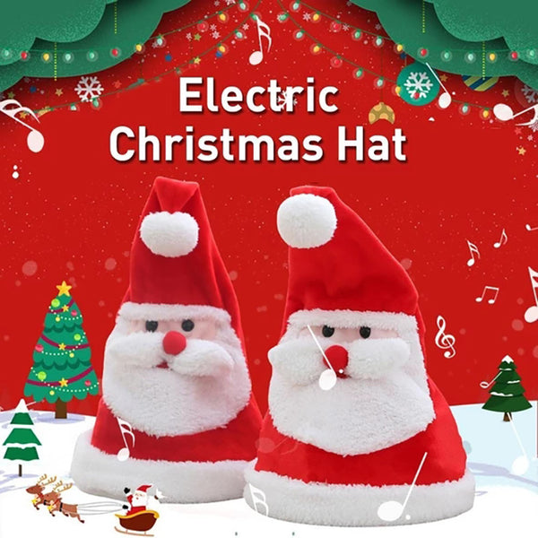 Funny Electric Christmas Hat