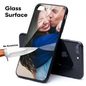 Custom Personalized Tempered Glass Phone Case