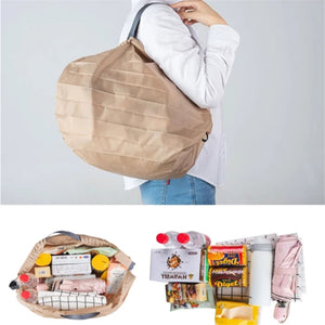 1 Second Folding Grocery Bag