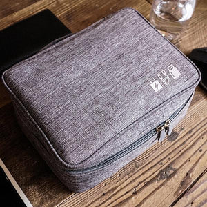 Multi-function Data Cable Storage Bag Charging Treasure Storage Box