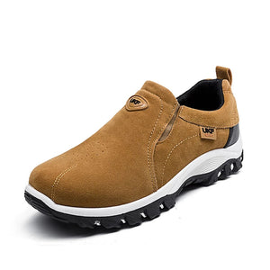 Men's Waterproof Athletic Slip-On Hiking Sneakers