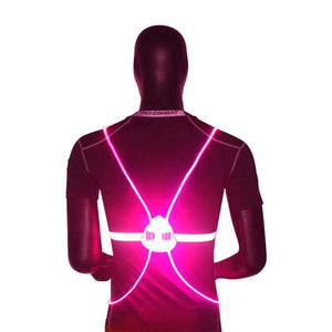 Reflective LED Flash Driving Vest