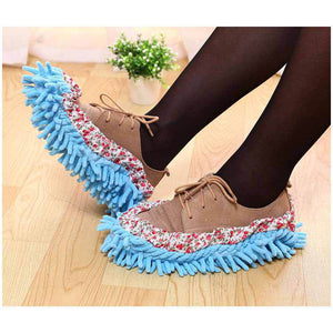 Multi Functional Chenille Lazy Shoes & Mopping Cover