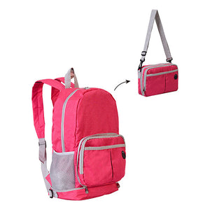Fashion Zipper Women Backpack Bag