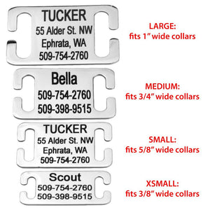 Custom Engraved Personalize Dog and Cat Tags