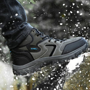 Men's Plus Velvet Warm Outdoor Skid Shoes