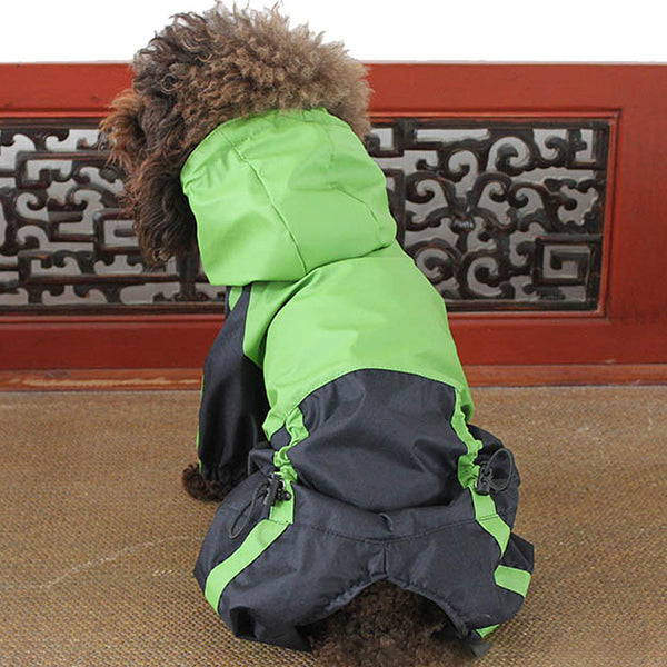 Dog 4 Legs Waterproof Raincoats