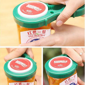 Multi Purpose Bottle Rubber Opener Tool