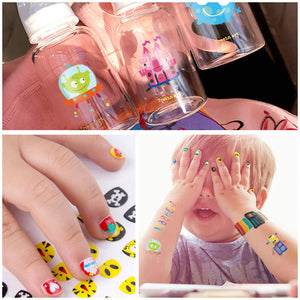 Baby Sticker Paper Boys and Girls Waterproof Sticker