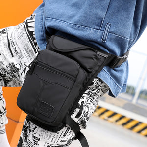 Men's Outdoor Sport Nylon Multifunction Riding Leg Pack Chest Bag