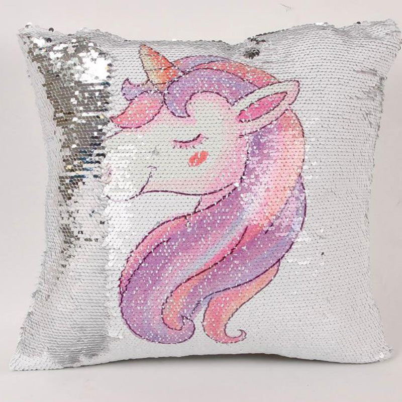 Customized Sequin Cushion Cover Pillow