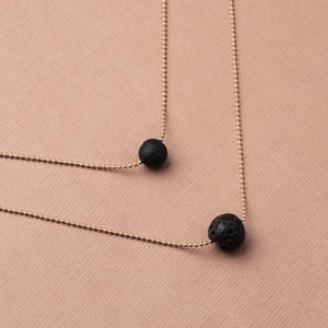 Fashion Volcanic Stone Necklace