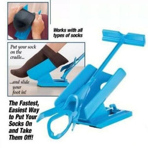Sock Slider Easy On & Easy Off Sock Aid Helper Pain Free