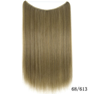 Halo Brazilian Non-remy Remy Hair Halo Extensions
