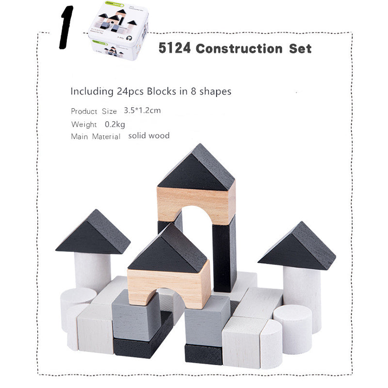 Mini Iron Box Wooden Toys