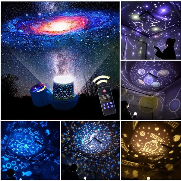 Home Decor - LED Starry Sky Projector