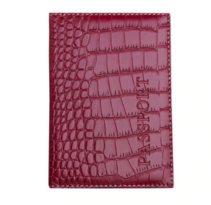 AURORA Passport in Red