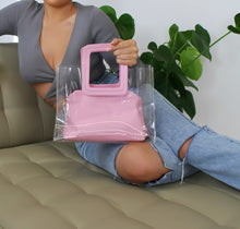 Load image into Gallery viewer, AURORA Beach Bag Pink