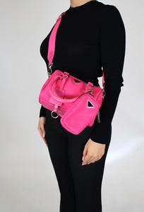 Aurora Cross Body Pink
