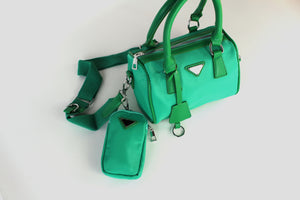 Aurora Cross Body Green