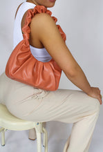Load image into Gallery viewer, Aurora Scrunchy Shoulder Bag Apricot
