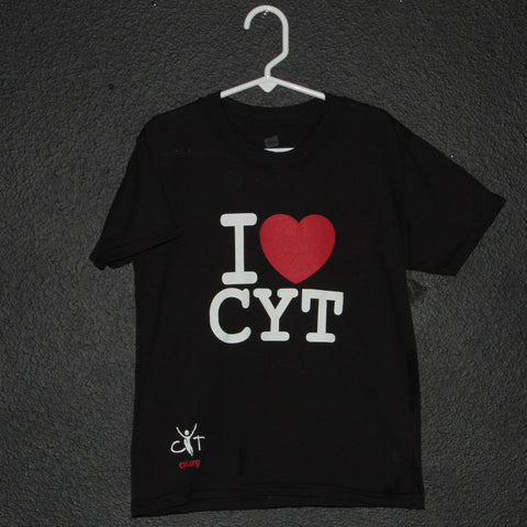 """I HEART CYT"" T-Shirt (standard & ladies fit available)"