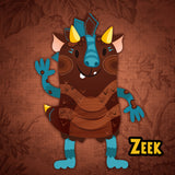 Meet Zeek the Snugaboo!